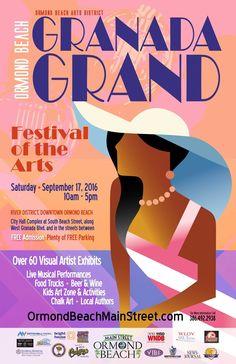 Granada Grand Festival of the Arts ~ Ormond Beach   Flagler County Family Fun