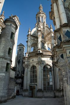 Chateau de Chambord, France. The castle that was the inspiration for Disney's 'Beauty & the Beast'.