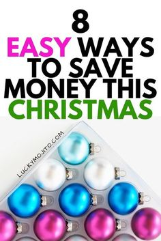 The holidays are stressful enough as is without having to worry about spending a ton of money. Here are 8 easy tips to avoid going broke this Christmas so you can still save money when buying gifts. Read this post to avoid going into debt this year! #Christmas #savemoney #frugal #moneytips #debtfree #holidays #savingmoney #frugalliving Ways To Save Money, Money Tips, Money Saving Tips, How To Make Money, Christmas On A Budget, Cheap Christmas, Christmas Ideas, Thing 1, Frugal Living Tips