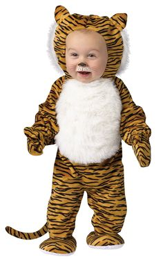 If theyu0027re going through that animal phase one of the best Halloween costumes for them could be this Toddler Cuddly Tiger Costume! Theyu0027ll roar with glee.  sc 1 st  Pinterest & White Tiger Baby Costume | Awesome Baby Costumes | Pinterest | Baby ...