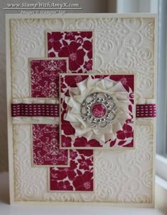 Print Poetry DSP Card by amyk3868 - Cards and Paper Crafts at Splitcoaststampers