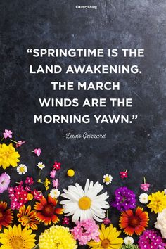 Lewis Grizzard Spring Quote