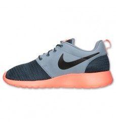 Nike Roshe Run Basket Homme Code de Style: 511881 097 Aimant Gris Foncé / Noir / Mangue Lumineuse-20