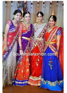 Half saree designs