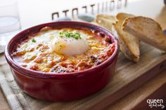 Baked eggs at Architects and Heroes