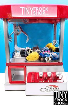 Tiny Frock Shop CLAW GAME!! Wanna Play?