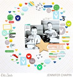 Embellish in a Circle with Jen Chapin | Elle's Studio Blog