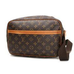 Louis Vuitton Reporter PM Monogram Shoulder bags Brown Canvas M45254