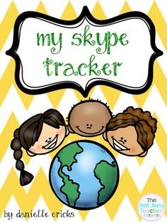 Want to get started with Mystery Skype? Download this amazing resource filled with instructions and templates for your students to start  their own Skype Tracker Binders! This packet includes:*Cover for binder or packet*Blank state template sheet*Blank country template sheet*Mile Tracker Sheet *U.S.