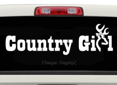 Country Girl Vinyl Decal Sticker Southern Belle  Color Auto - Decals for trucks windows