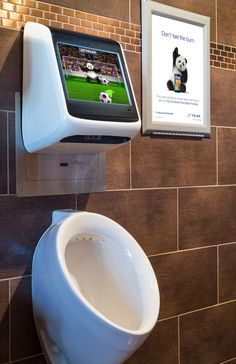 Telus: Urinal game