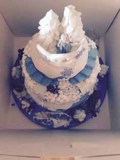 Frozen cake!