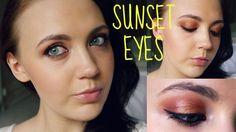 Summer Makeup Tutorial - Sunset Eyes