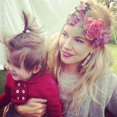 Sienna + Marlowe...love the hairband.