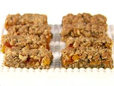 Apricot Oat Bars Recipe : Giada De Laurentiis : Food Network - FoodNetwork.com