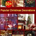 50+ Latest Christmas Decorations 2016