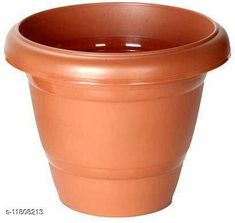 Pots & planters Asian Aura Plastic Round Pot (Brown, Pack of 4) Material: Plastic Tray Included: No Pack: Multipack Product Length: 10 cm Product Breadth: 10 cm Product Height: 10 cm Country of Origin: India Sizes Available: Free Size   Catalog Rating: ★4.1 (1190)  Catalog Name: Fancy Pots & Planters CatalogID_2238338 C133-SC1607 Code: 042-11808213-993