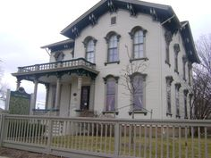 Crocker House,15 Union Street ,Mount Clemens, MI - Italianate architecture in Mount Clemens