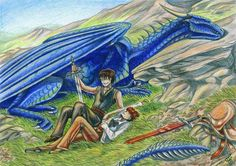 Eragon, Saphira and Roran I think :)