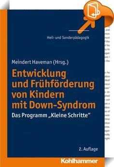 """Dieses Buch bietet einen umfassenden Überblick über Faktoren, die die Entwicklung von Kindern mit geistiger Behinderung - insbesondere von Kindern mit Down-Syndrom - in der vorschulischen Phase fördern. Im ersten Teil werden hierzu neue Ergebnisse aus Entwicklungspsychologie, Neurobiologie, Vorschulforschung sowie Früherkennung und -diagnostik vorgestellt. Schwerpunkt des zweiten Teils bildet das Frühförderprogramm """"Kleine Schritte"""": Der Ablauf des Programms, die Ergebnisse der wiss..."""