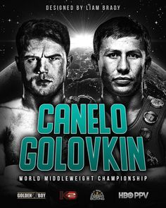 Can't wait to see this fight. #TeamCanelo