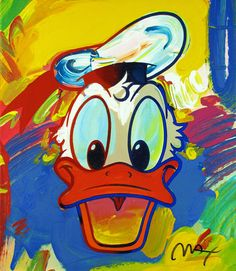 Donald Duck by Peter Max