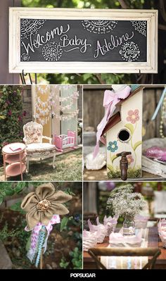 The Sun Shines on This Boho Baby Shower
