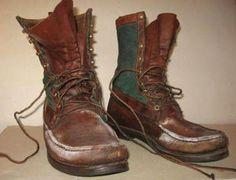 Как очистить обувь от белых пятен