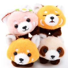 9c8ac900b755e Plushies   Small Plushies   Lesser Panda-chan Yochi-yochi Red Panda Plush  Collection