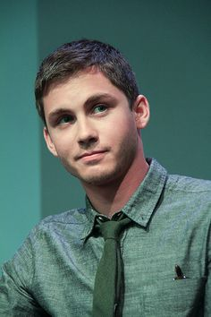 Logan Lerman have such a crush on him!