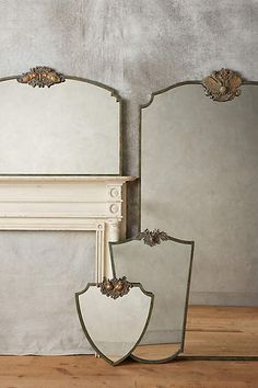 Wooded Manor Mirror - anthropologie.com