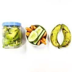 Nếp sống điệu hạnh của 1 dân văn phòng  #avocado #cucumber #banana #carrot #lowcarb #mệt by pjmaste