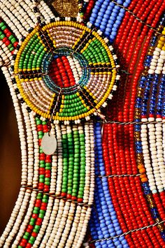Traditional Maasai Beading