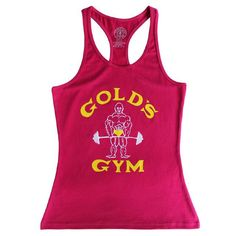 Bodybuilding Tank Top Woman Golds Gyms Fitness