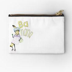Dorm Room Accessories, School Accessories, Banana Phone, Banana Art, Grandma Gifts, Duffel Bag, Gifts For Girls, School Bags, Zipper Pouch