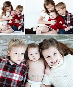 3 month old pictures with siblings