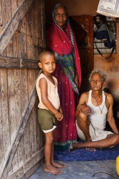 Delhi, India - Slum Life