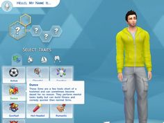 Mod The Sims - The Dunce Trait-- ha ha, this actually sounds like an interesting trait!