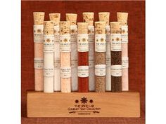Set of 11 Ultimate Gourmet Salt Collection by The Spice Lab by The Spice Lab at Cooking.com