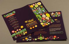 graphic farmers market brochure design template by ian johnson