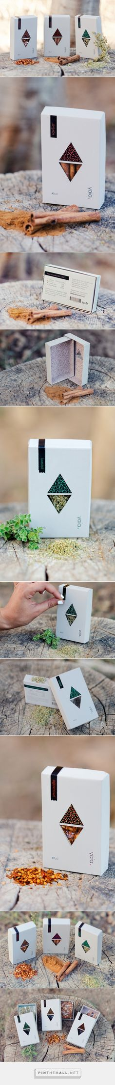 γαία Spice Packaging (Student Project) - Packaging of the World - Creative Package Design Gallery - http://www.packagingoftheworld.com/2016/06/spice-packaging-student-project.html