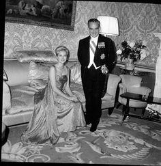 Principessa Grace con il Principe Ranieri di Monaco