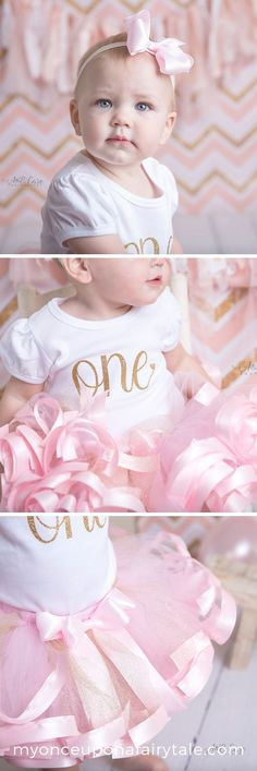 First Birthday Outfit for Girl Pink and Gold – Birthday Party Dress – Cake Smash Photo Outfit – Birthday Gift for Girl - Babyshower Pink Cake Ideen Gold First Birthday Outfit, 1st Birthday Princess, 1st Birthday Tutu, Baby Girl First Birthday, Birthday Gifts For Girls, 1st Birthday Parties, Birthday Celebration, Cake Smash Photos, Smash Cakes