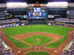 Miller Park, Milwaukee, Wis., Home of the Milwaukee Brewers