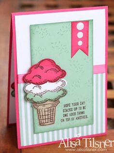 Sprinkles of Life by AlisaZoe - Cards and Paper Crafts at Splitcoaststampers