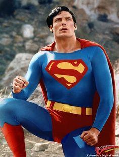 Christopher Reeve as Superman (DC Comics). Superman Characters, Superman Movies, Superman Family, Dc Characters, Supergirl, Superman Man Of Steel, Superman Superman, Superman Artwork, Dc Comics