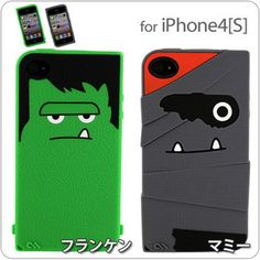 Case-Mate Creatures Frankenstein iPhone4S/4