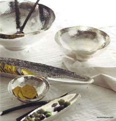 Roost Hammered Silver Serveware Collection – Modish Store