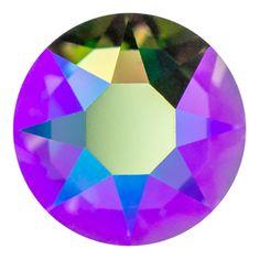 2078 SS12 Crystal Paradise Shine Swarovski Crystal Hotfix Flat Back Rhinestone | Fusion Beads