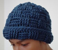 Free Crochet Pattern : Crochet Hat for Men